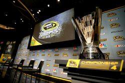 The NASCAR Sprint Cup trophy