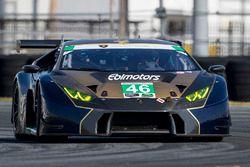 #46 Ebimotors Lamborghini Huracan GT3: Emanuele Busnelli, Fabio Babini