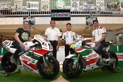 Lucio Cecchinello, Team LCR Honda Team Principal, Cal Crutchlow, responsable del equipo Team LCR Hon