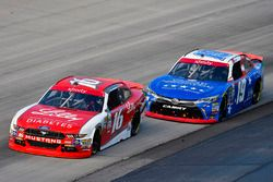 Ryan Reed, Roush Fenway Racing Ford and Matt Tifft, Joe Gibbs Racing Toyota