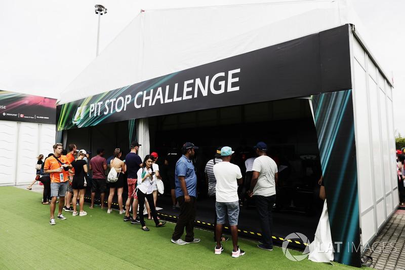 Fans di Pit Stop Challenge di Fanzone