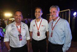 Tan Sri Azman, Presidente del circuito internacional de Sepang y Chase Carey, Director Ejecutivo y P