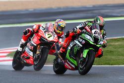 Tom Sykes, Kawasaki Racing, Chaz Davies, Ducati Team