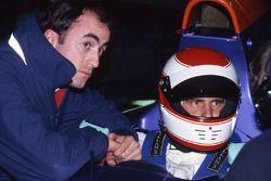 Roland Ratzenberger, Simtek S941, mit David Brabham