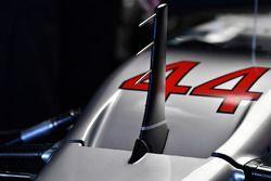 Mercedes AMG F1 F1 W08 nose detail