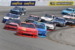 Justin Allgaier, JR Motorsports Chevrolet, Kyle Larson, Chip Ganassi Racing Chevrolet, Austin Dillon, Richard Childress Racing Chevrolet