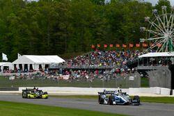 Max Chilton, Chip Ganassi Racing Honda, Charlie Kimball, Chip Ganassi Racing Honda