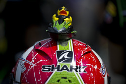 Il casco di Kyle Ryde, Kawasaki Puccetti Racing