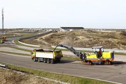 Bauarbeiten am Circuit Park Zandvoort