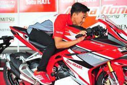 Awhin Sanjaya, Astra Honda Racing Team