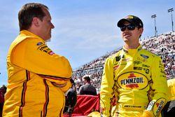 Joey Logano, Team Penske Ford with crew chief Todd Gordon