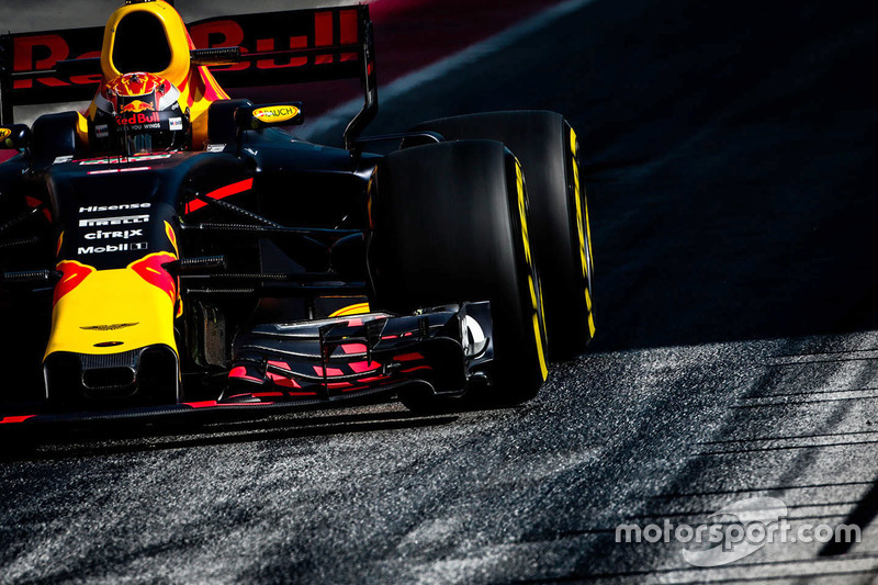 Viernes:  Max Verstappen, Red Bull Racing RB13
