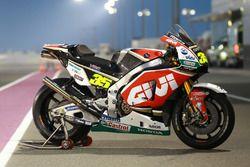 La moto de Cal Crutchlow, Team LCR Honda