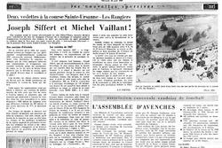 Nouvelle Revue de Lausanne, Rangiers 1967