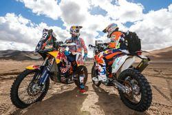 Sam Sunderland y Matthias Walkner, KTM Factory Racing
