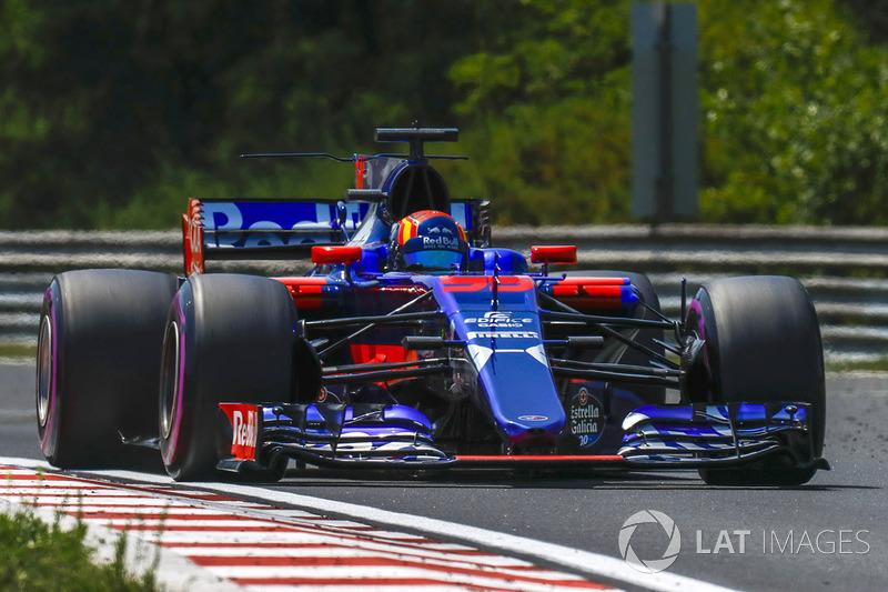 16 місце — Карлос Сайнс (Іспанія, Toro Rosso) — коефіцієнт 1501,00
