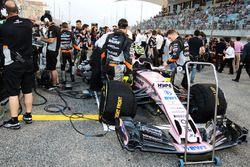 Car of Esteban Ocon, Force India VJM10