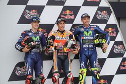 Qualifying: pole sitter Marc Marquez, Repsol Honda Team, second place Maverick Viñales, Yamaha Facto