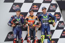 Qualifying: pole sitter Marc Marquez, Repsol Honda Team, second place Maverick Viñales, Yamaha Facto