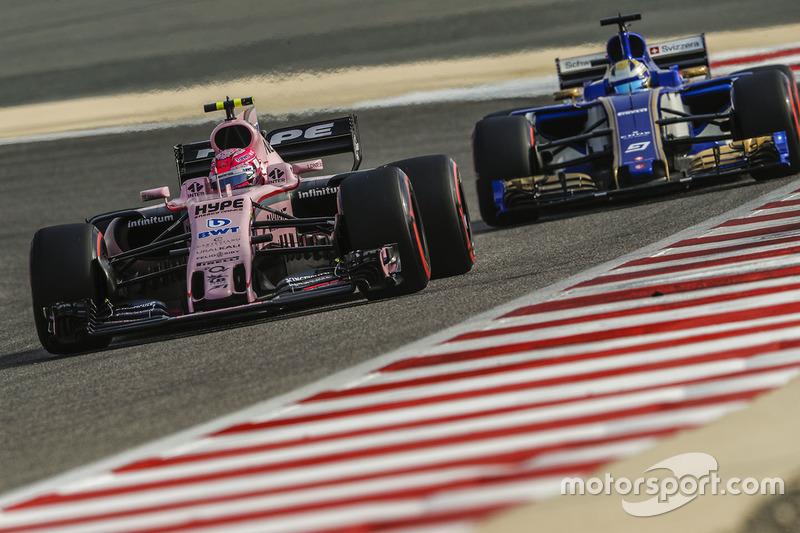 10e Esteban Ocon, Force India VJM10