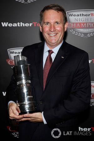 Mark Kent van Chevrolet met GTLM Manufacturers' trofee