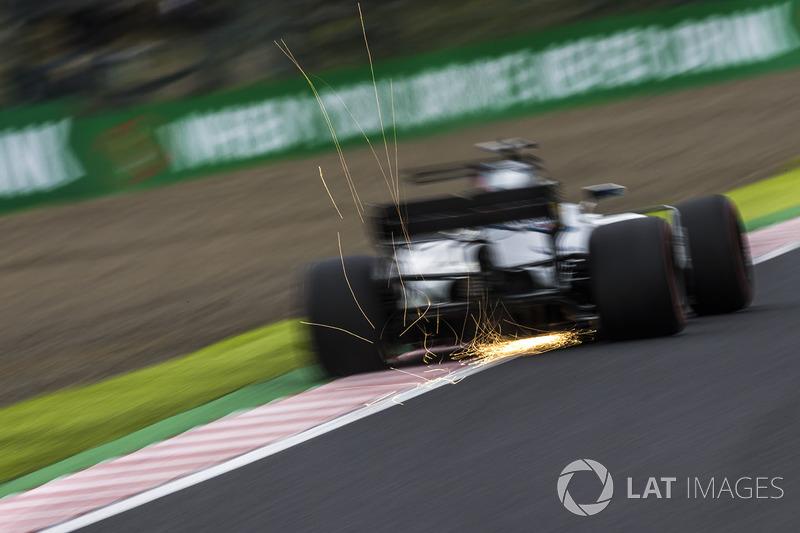 Felipe Massa, Williams FW40, scintille