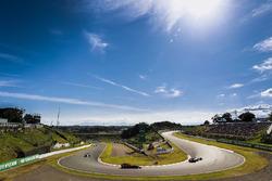 Esteban Ocon, Sahara Force India F1 VJM10, Max Verstappen, Red Bull Racing RB13, Valtteri Bottas, Mercedes AMG F1 W08