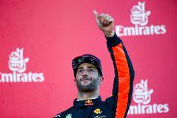 Обладатель третьего места Даниэль Риккардо, Red Bull Racing