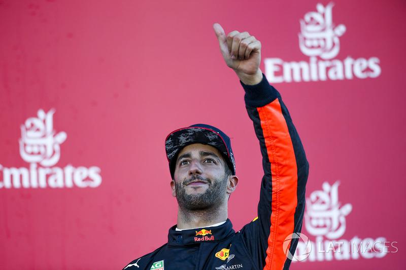 Daniel Ricciardo: 16 üçüncülük