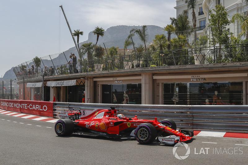 2. Sebastian Vettel, Ferrari, SF70-H
