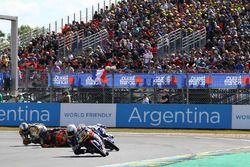 Chute de Niccolo Antonelli, Red Bull KTM Ajo