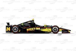Sage Karam, Dreyer & Reinbold Racing, Chevrolet