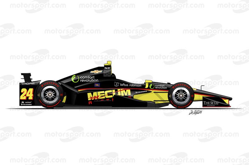 #24 - Sage Karam, Dreyer & Reinbold Racing Chevrolet