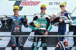 Podyum: 2. Aron Canet, Estrella Galicia 0,0, winner Joan Mir, Leopard Racing, 3. Fabio Di Giannanton