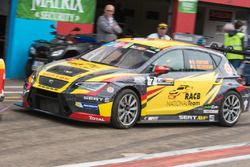 Denis Dupont e Sam Dejonghe, SEAT Leon TCR, RACB National Team