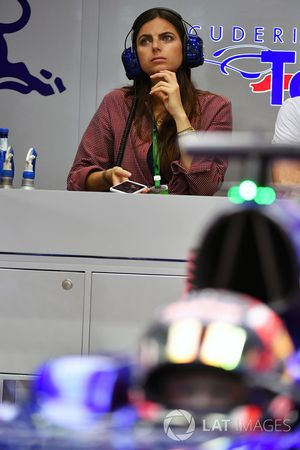 Kelly Piquet novia de Daniil Kvyat, Scuderia Toro Rosso