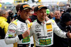 3. #48 Mercedes-AMG Team HTP Motorsport, Mercedes-AMG GT3: Indy Dontje, Marvin Kirchhöfer