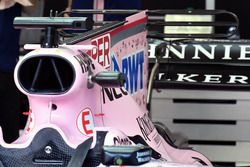 Sahara Force India VJM10 engine cover fin detail