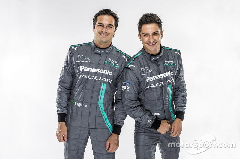 Mitch Evans, Nelson Piquet Jr., Jaguar Racing