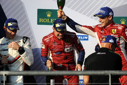 LMGTE Pro podium: winners James Calado, Alessandro Pier Guidi, AF Corse