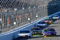 Daniel Suarez, Joe Gibbs Racing Toyota and Denny Hamlin, Joe Gibbs Racing Toyota