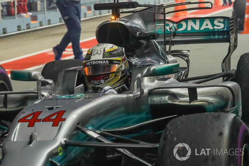 No final, deu Lewis Hamilton, que agora tem 28 pontos de diferença para Sebastian Vettel.