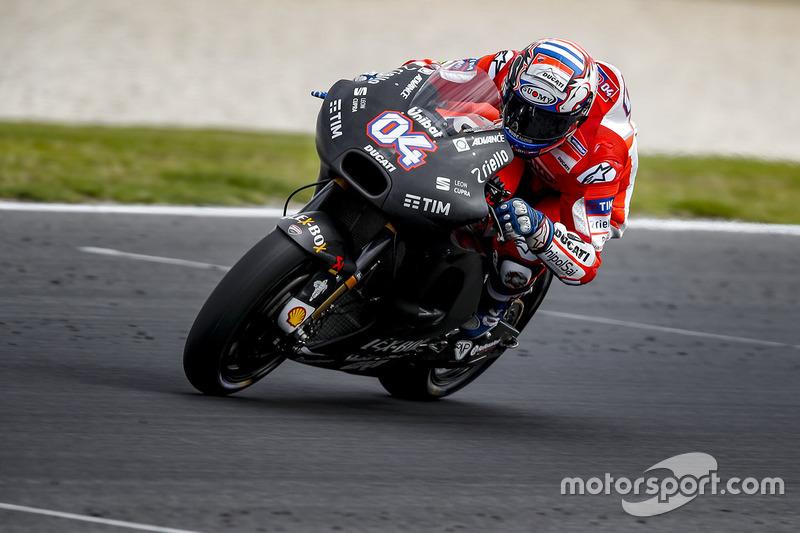 7º Andrea Dovizioso (Ducati) 1:29.248, a 0.699s