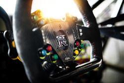 Nissan Motorsport, Nissan GT-R Nismo GT3 steering wheel detail