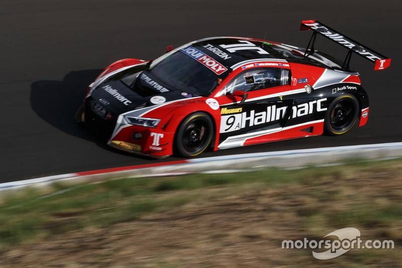 9. #9 Hallmarc, Audi R8 LMS