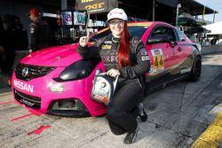 Total pole award winner #44 CRG-I Do Borrow Nissan Altima Coupe: Sarah Cattaneo