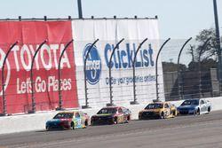 Kyle Busch, Joe Gibbs Racing Toyota, Erik Jones, Furniture Row Racing Toyota, Matt Kenseth, Joe Gibbs Racing Toyota, Dale Earnhardt Jr., Hendrick Motorsports Chevrolet