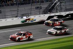Ryan Reed, Roush Fenway Racing Ford; Brad Keselowski, Team Penske Ford; Ty Dillon, Richard Childress Racing Chevrolet