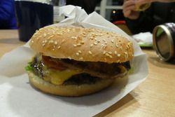Nach Valtteri Bottas benannter Burger in Finnland