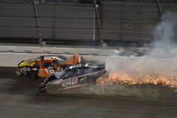 Matt Tifft, Joe Gibbs Racing, Toyota; Brandon Hightower, Toyota